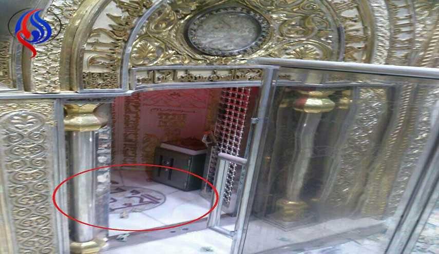 محل ضربت خوردن حضرت علی (ع)